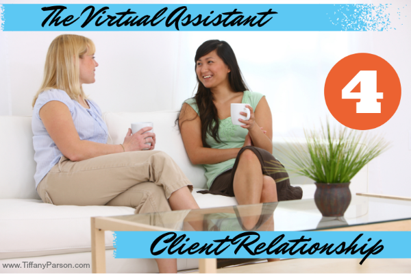 The Virtual Assistant And Client Relationship http://www.blogtalkradio.com/tiffanydparson/2013/11/19/the-virtual-assistant-and-client-relationship