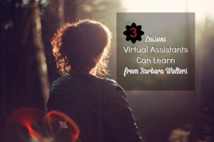 HSDT 012: Three Lessons Virtual Assistants Can Learn from Barbara Walters With Tiffany Parson