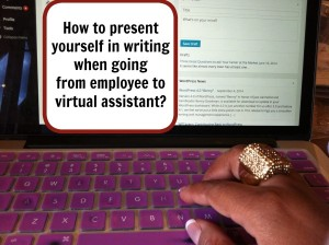 How To Present Yourself In Writing As A Virtual Assistant