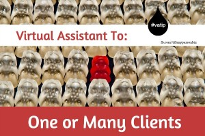 Virtual Assistant To One Client Or Many Clients
