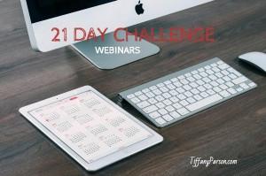 21 Day Webinar Challenge