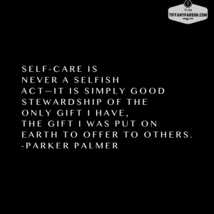 Are You Caring For You?